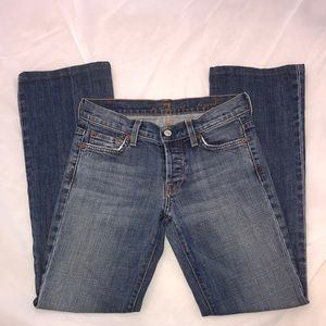 7 for All Mankind Boycut Jean Size 25 Seven Jeans